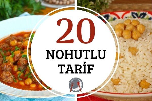 Nohut Yemekleri: Bereketli, Doyurucu ve Sağlıklı 20 Tarif Tarifi