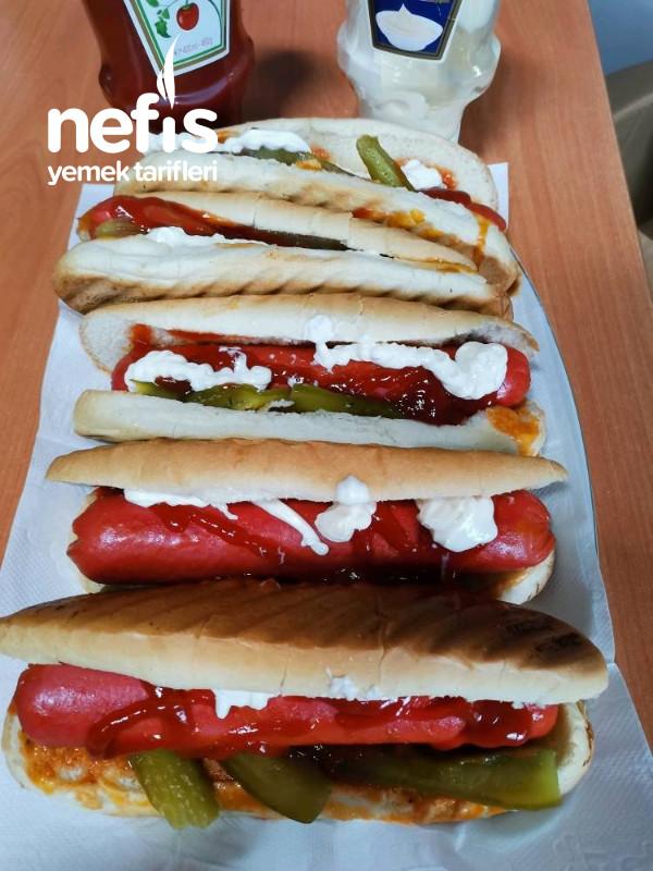 Parmak Isırtan Sosisli Sandviç(büfe Usulü)