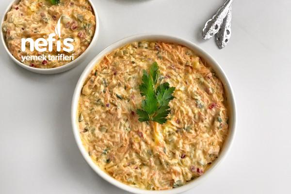 Yoğurtlu Sebzeli Salata Tarifi