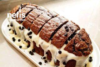 Beyaz Çikolata Soslu Pasta Tarifi
