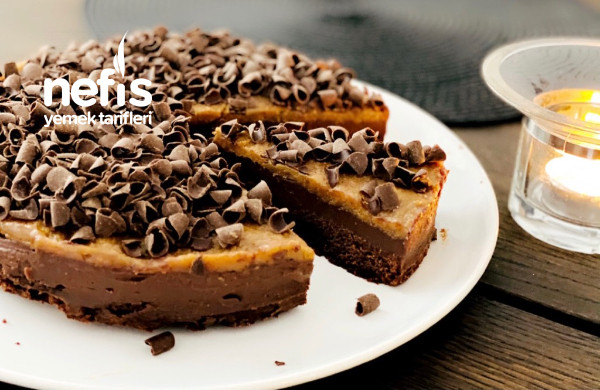 Cikolata-trufflu Ve Karamelli Mukemmel Kek