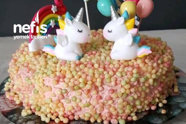 Doğum Günü Pastası (İki Dakikada) Tarifi