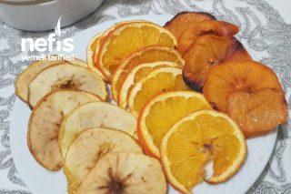 Kuru Meyve/Evde Kurutulmuş Meyve Tarifi
