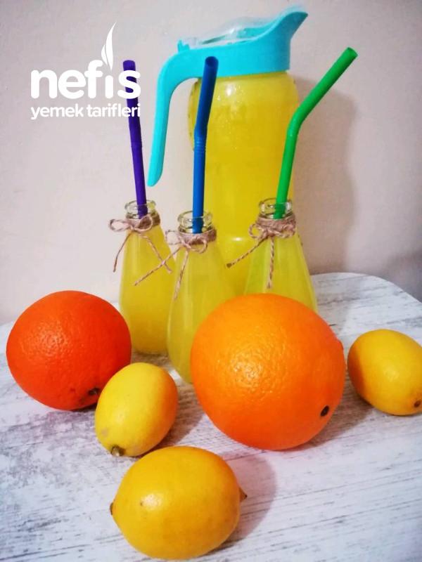 Limonlu Portakal Suyu