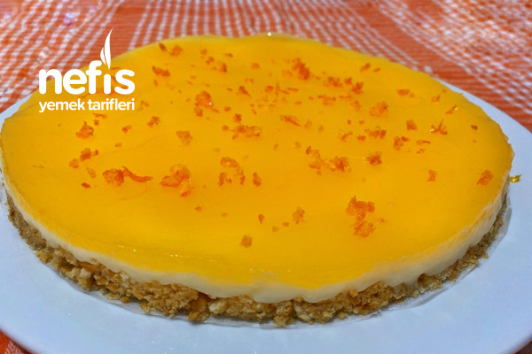 Mandalina Soslu Pişmeyen Pasta (Videolu) Tarifi