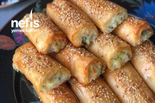 Peynirli Baklavalık Yufka Böreği Tarifi