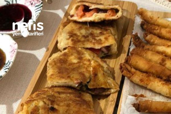 Pizza Tadında Kahvaltı Böreği Tarifi