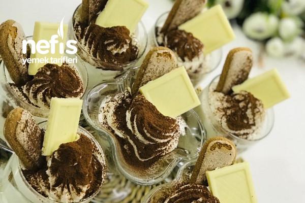 Pratik Kupta Tiramisu( Pişirmeden- Sadece 15 Dakika) (Videolu) Tarifi