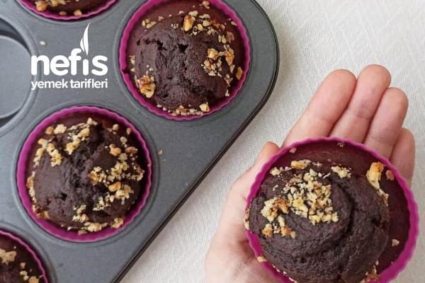 Şeker Yok, Yağ Yok Sağlıklı Muffin Tarifi (Videolu)