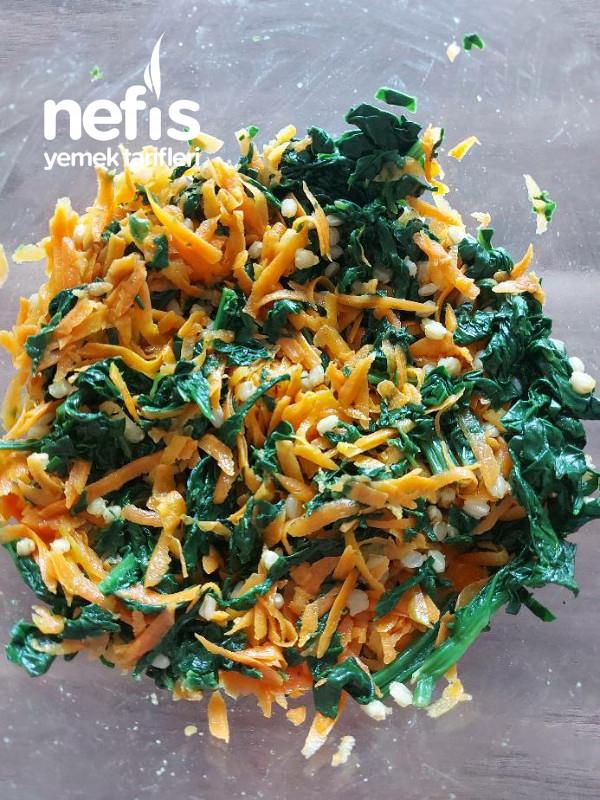 Bugdayli İspanak Salatası