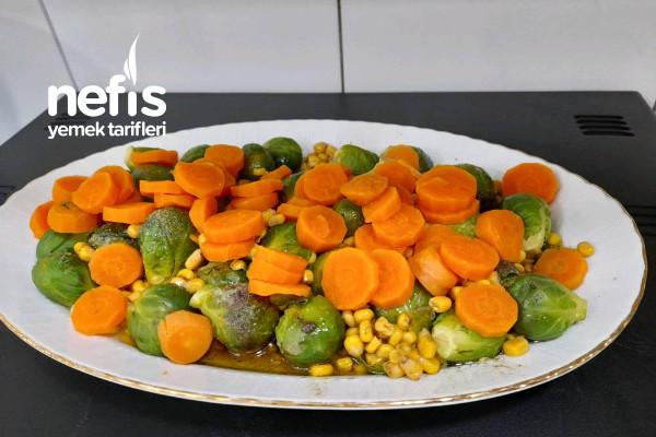 Bürüksel Lahana Salatası Tarifi