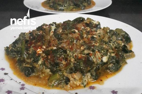 Görünüşüyle İştah Kabartan Ispanak Yemeği Tarifi
