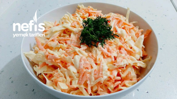 Lahana Salatası Tarifi | Coleslaw Salata Tarifi