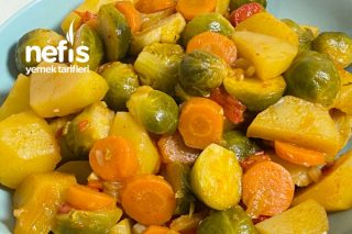 Patatesli Brüksel Lahanası Tarifi