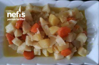 Portakal Suyundan Pişmiş Kereviz Tarifi