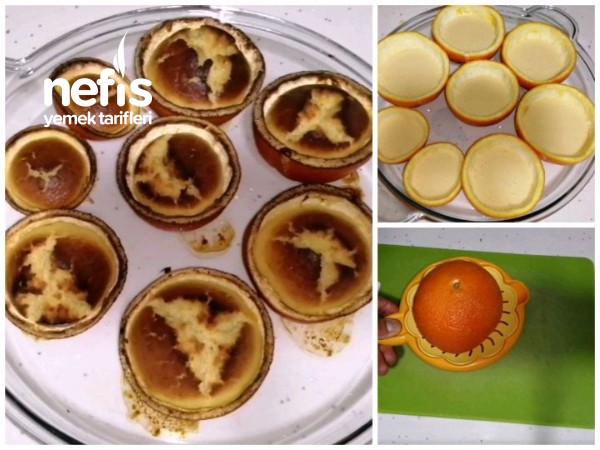 Portakallı Kekportakal Kabuğunda Kek