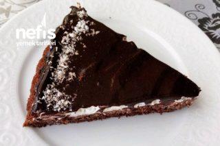 Tart Kalıbında Kremalı Çikolata Pasta Tarifi