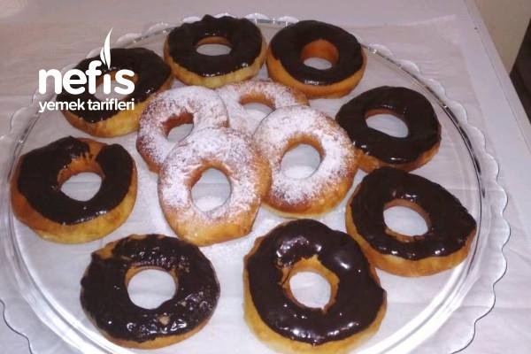 Yağ Çekmeyen Puf Puf Donut Tarifi