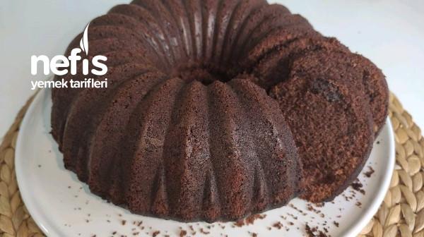 Çaylı Kakaolu Yumuşacık Kek (Videolu)