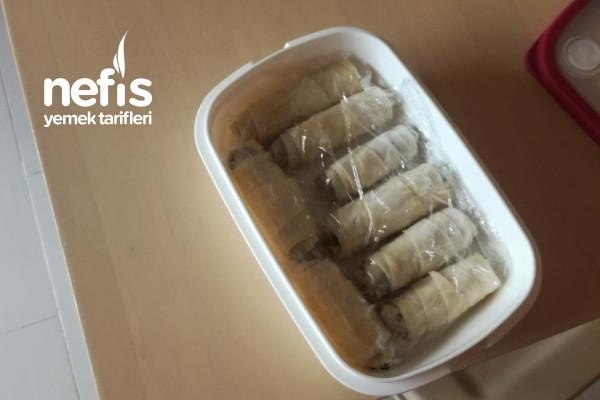 Difriz İçin Ispanaklı Sarma Böreği