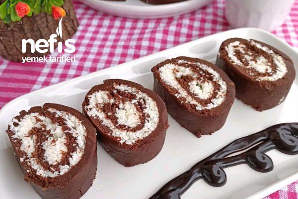 Hindistan Cevizli Bisküvili Pasta Tarifi