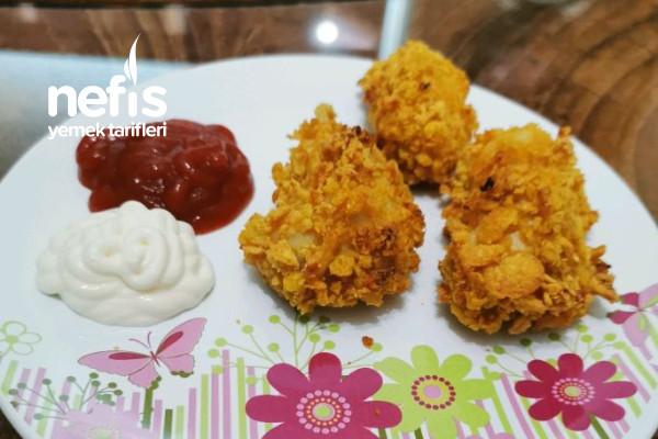 KFC Tadında Fırında Nugget Tarifi