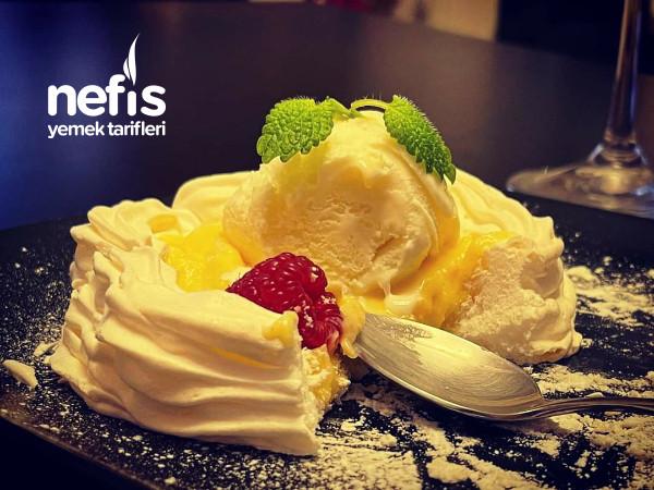 Limonlu Ve Dondurmalı Pavlovatatlısı