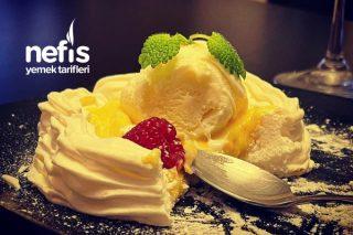 Limonlu Ve Dondurmalı Pavlova Tatlısı Tarifi