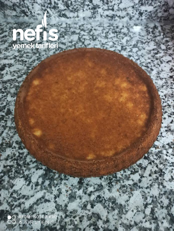 Portakallı Tart Kek