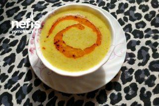 1 Çay Bardağı Krema İle Brokoli Çorbası Tarifi
