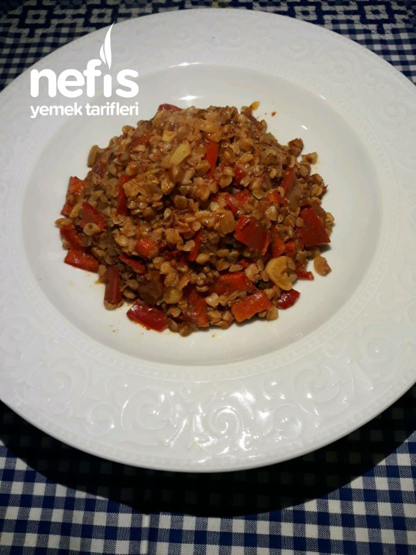 Domatesli Karabuğday (Greçka) Pilavı