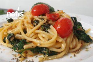 Ispanaklı Spagetti Pratik Ve Muhteşem Bir Tat Tarifi