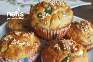Ispanaklı Tuzlu Muffin Tarifi