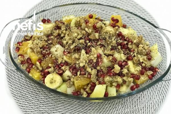 Nefis Meyve Salatası Tarifi