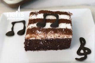 Piyano Kek (Büyük Borcam Ölçüsünde) Tarifi