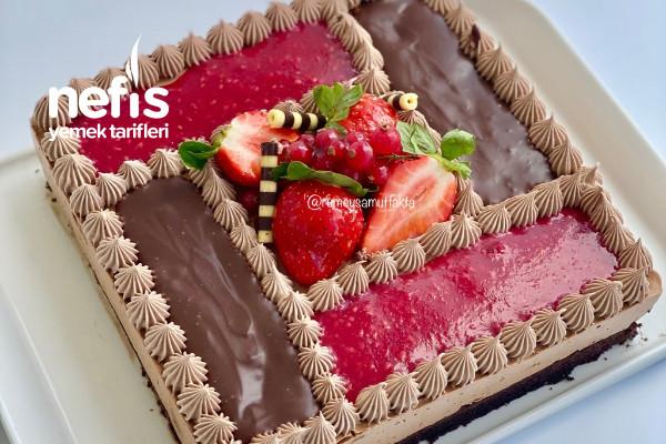 Çikolatalı Köpük Pasta (Videolu) Tarifi