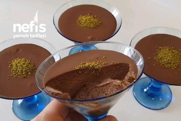 Çikolatalı Mus (Chocolate Mousse) Tarifi