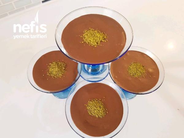Cıkolatalı Mus (Chocolate Mousse)