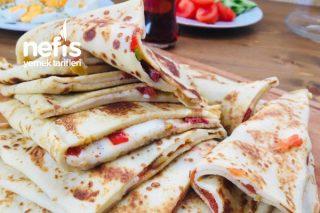 Krep Pizza Tarifi
