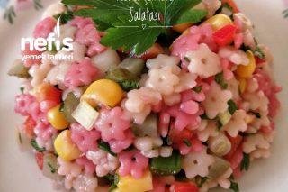 Yıldız Erişte Salatası Tarifi