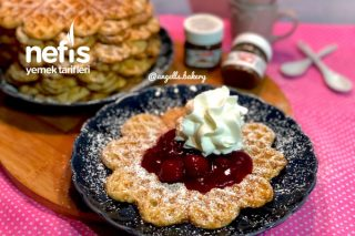 Alman Waffle Tarifi (Videolu)