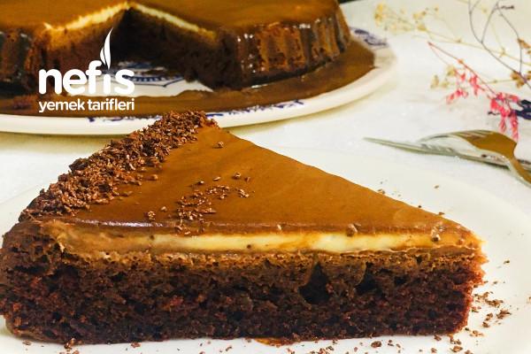 Ganajlı Tart Kek Tarifi (Bol Çikolatalı)
