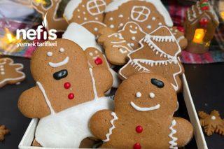 Gingerbread Kurabiye (Zencefilli,Tarçınlı) Tarifi