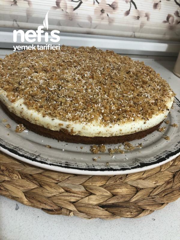 Havuçlu Kremalı Kek Pasta