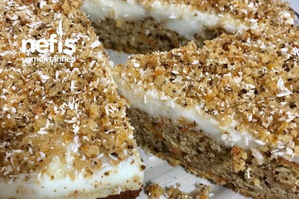 Havuçlu Kremalı Kek Pasta Tarifi