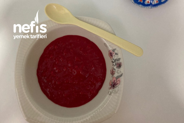 Kırmızı Pancarlı Bebek Çorbası +6ay Tarifi