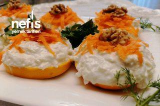 Portakallı Kereviz Mezesi Tarifi