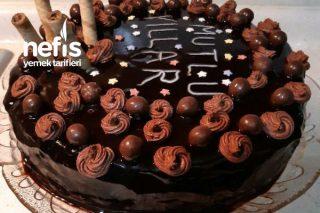 Doğum Günü Pastası En Kolayından Tarifi