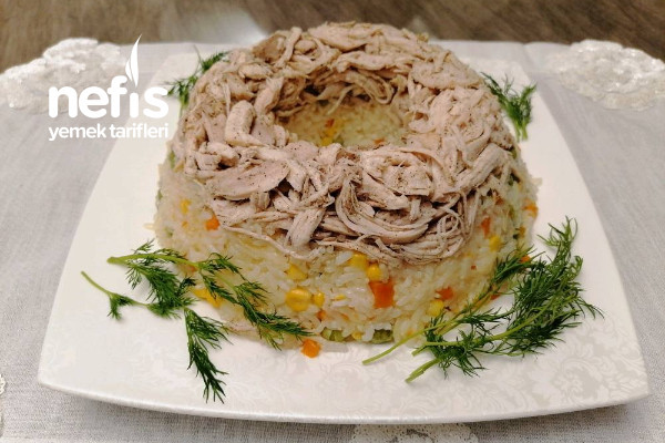 İnanılmaz Bir Tat Sebzeli Tavuklu Pilav Tarifi