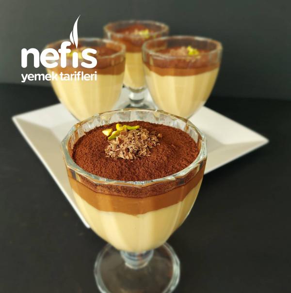 Karamelli Çikolatali Nefis Muhallebi